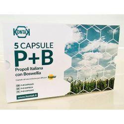 Capsule di Propoli e Boswellia P+B Ricambio 5 Pezzi