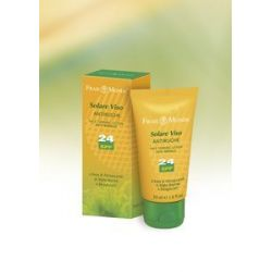 Crema solare Viso Antirughe SPF24